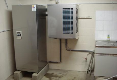 Warmtepompboiler Daikin (naast elkaar geplaatst)