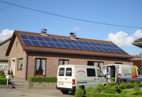 PV installatie rec 240Wp panelen  (Brustem)