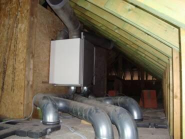 Ventilatie dakopstelling